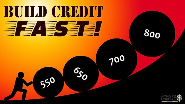 how to build credit fast with no credit