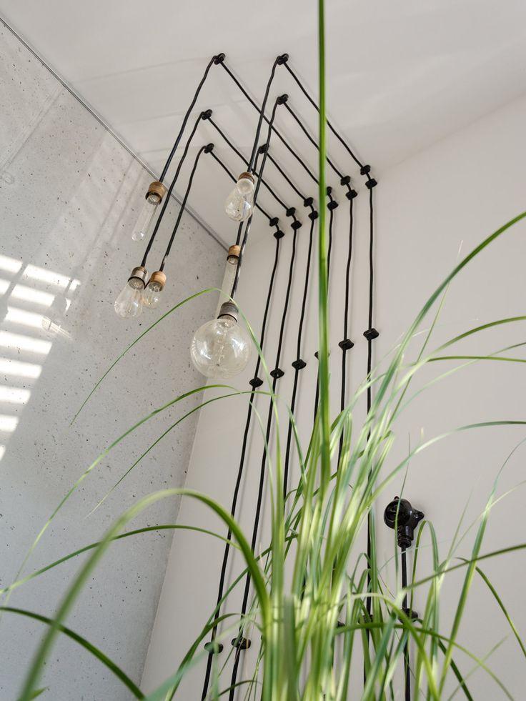 Lichtinstallation mit Kohlefadenglühbirnen - Lichtideen