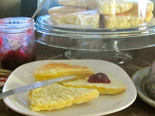 MA in the Kitchen: Granny's Scones: A memory to be savoured