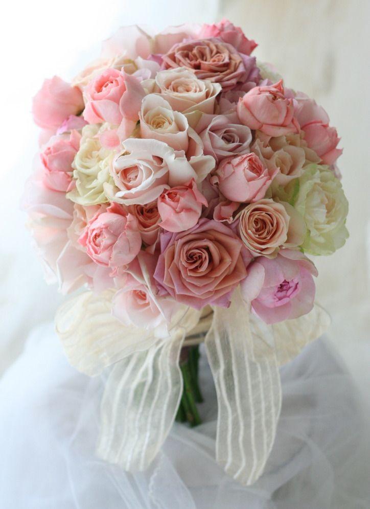 7シェアブーケ 秋の朝 オテル・ドゥ・ミクニ様へ : 一会 ウエディングの花