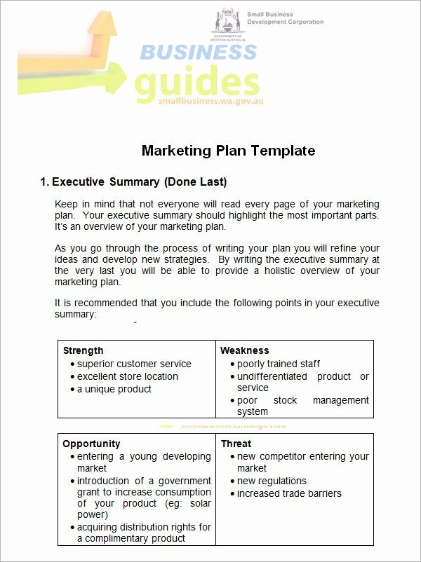 Marketing Proposal Template Word In 2020 Marketing Plan Template