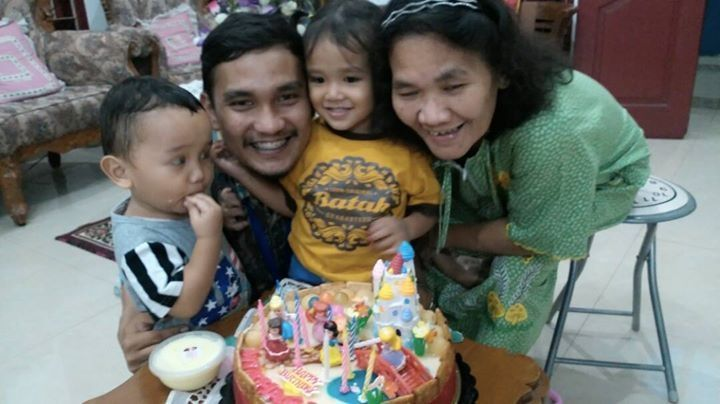 Puding Cake for My Beloved Nephew Mikhaela Louisa Elavania Pasaribu