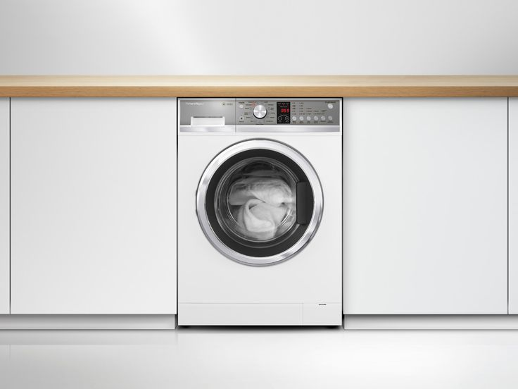 Fisher & Paykel Front Loader (WH8060P1) 8.0kg.  Our Front Loader Washer utilises SmartDrive™ technology to eliminate the belt drive, delivering the ultimate clothes care. A revolutionary Vortex wash gets clothes cleaner faster. In fact the majority of the 13 cycles when set to wash at a temperature 30°c or lower will complete the cycle in well under an hour. Shop online https://www.fisherpaykel.com/uk/laundry/washing-machines/front-loaders/washsmart-8-0kg.WH8060P1.html