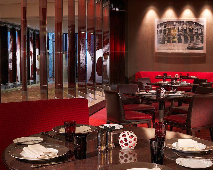 Red, Bold, modern, and innately Italian – that's ROSSO restaurant at Four Seasons Hotel Riyadh ! www.rossoriyadh.com