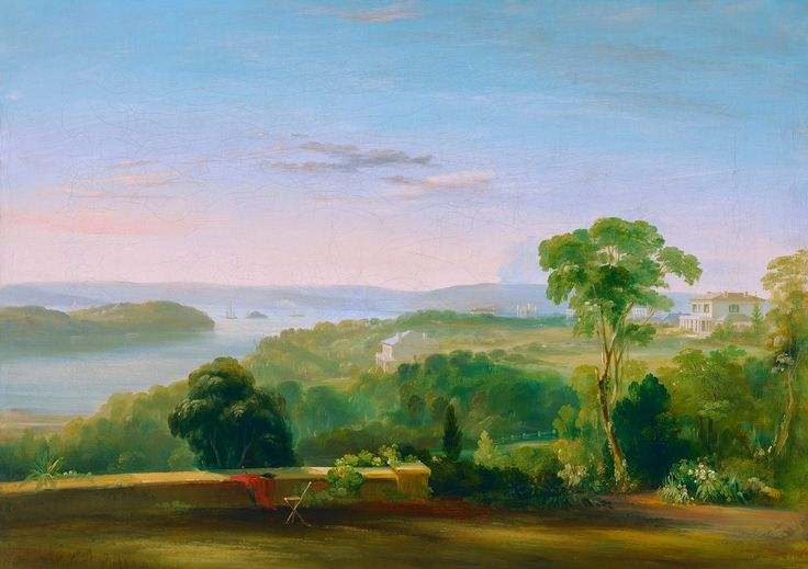 Conrad Martens, «View from Rose Bank»