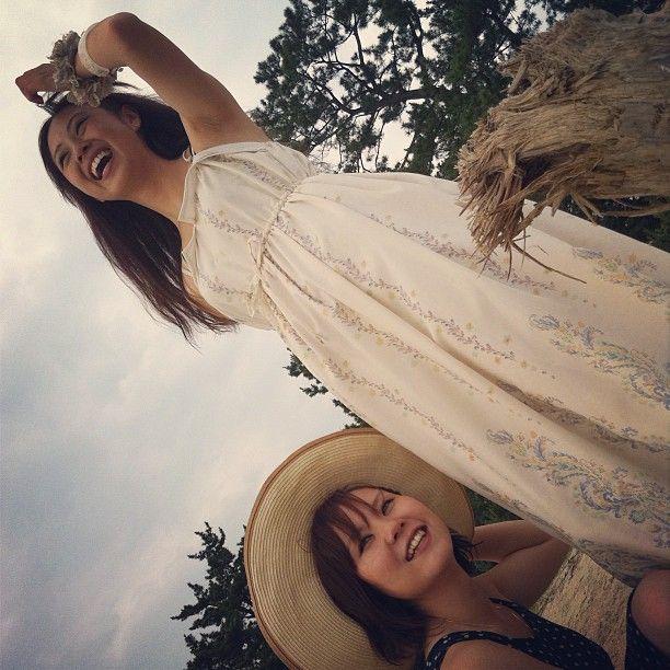 #kitao777 しょこりん、あゆみっち。 #jidori #jidori0722 #yamaguchi @ 室積海水浴場