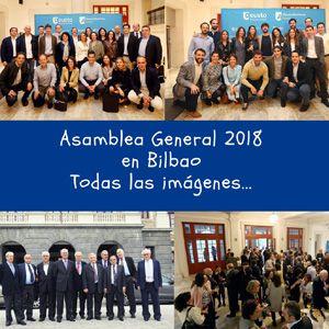 La asociación Deusto Business Alumni celebró la tarde del viernes 1 de junio su Asamblea General 2018, en el Auditorio Pedro de Icaza del Campus de Bilbao de Deusto Business School. Con un mensaje central, Alumni DBA es una asociación renovada y en crecimiento.