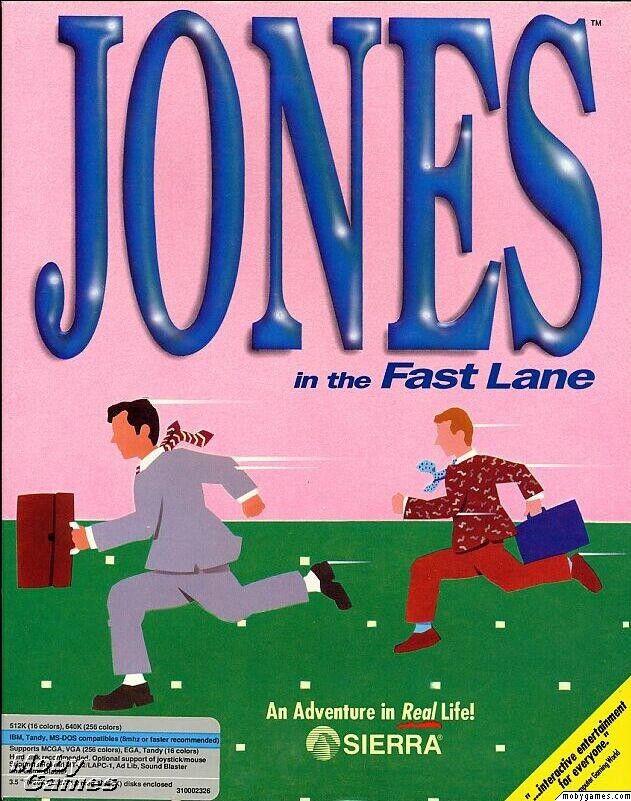 JONES IN THE FAST LANE +1Clk Windows 10 8 7 Vista XP Install