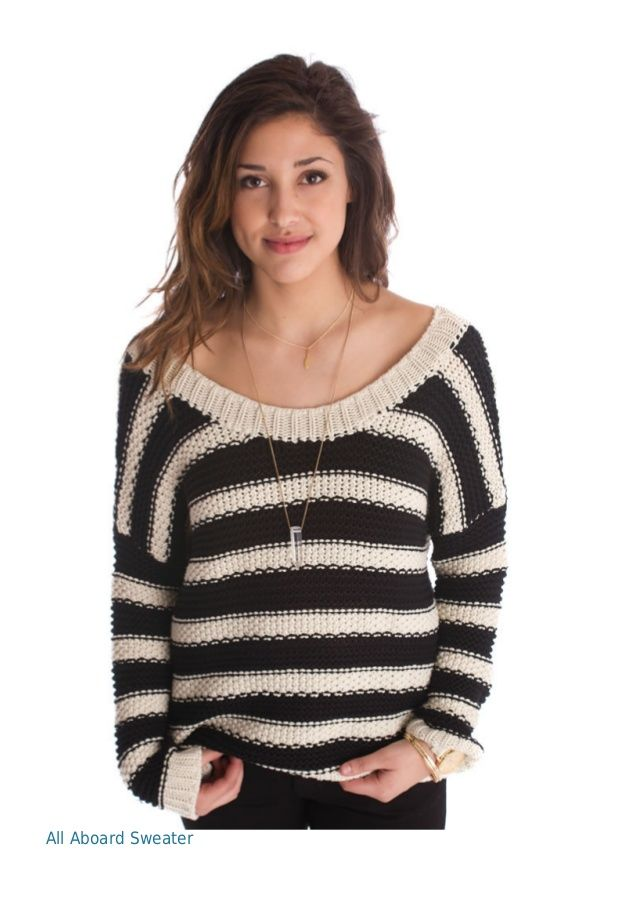 All Aboard Sweater