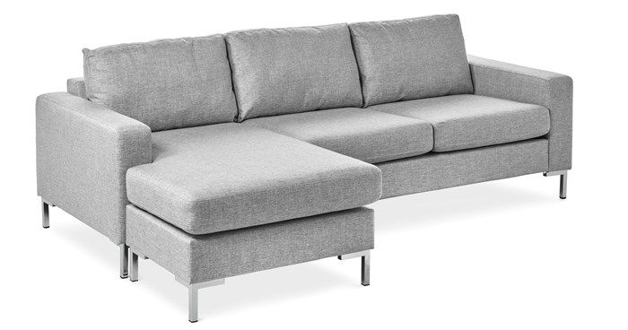 Produktbild - Toronto, 3-sits soffa med flyttbar schäslong