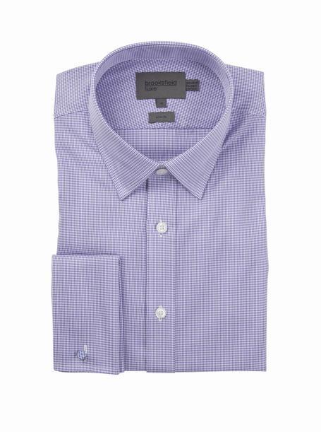 brooksfield michigan shirt - bfc933 mauve