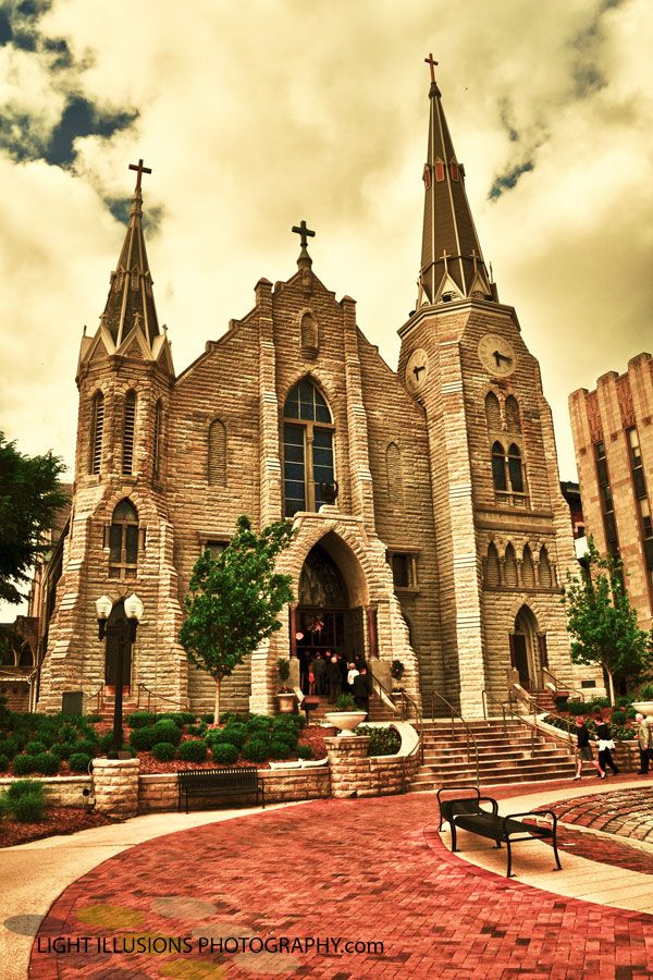 St. John's Church - Creighton University. So lucky to call this campus my home. #creighton #beautiful