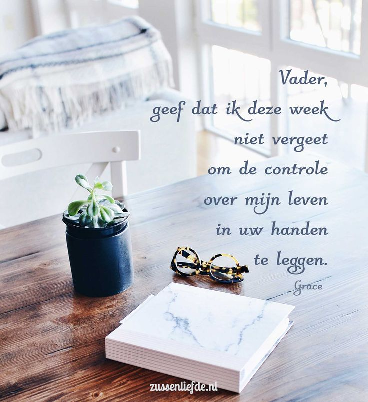 Gebed ~ Controle