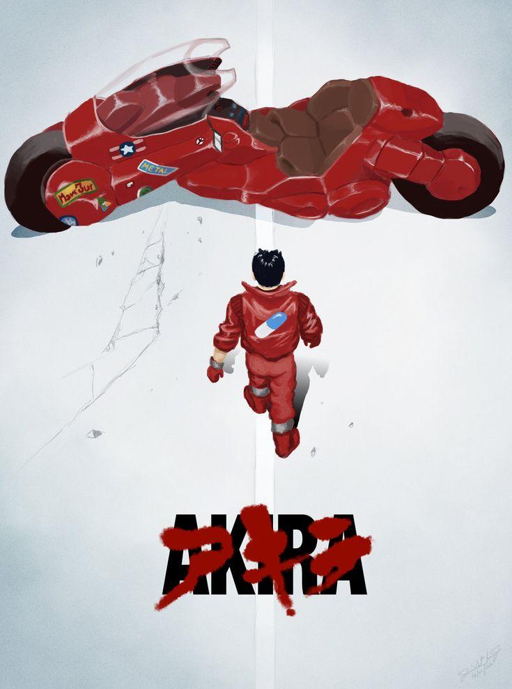 Pics For > Akira Japanese Movie Poster