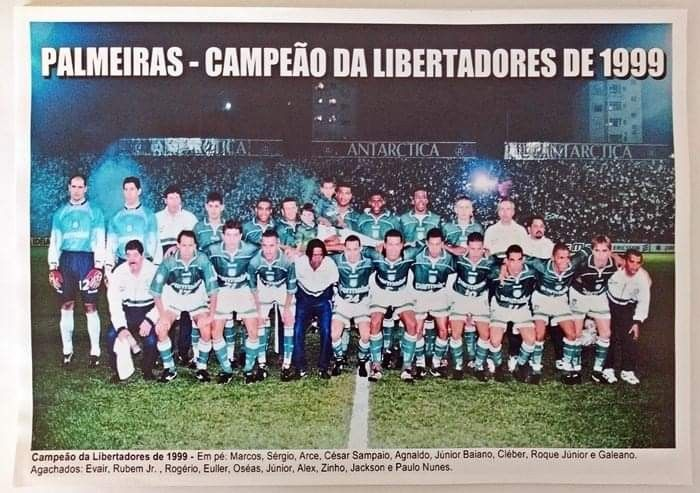 Palmeiras Campeao Da Libertadores 1999 Em 2021 Campeoes Da Libertadores Palmeiras Campeao Palmeiras