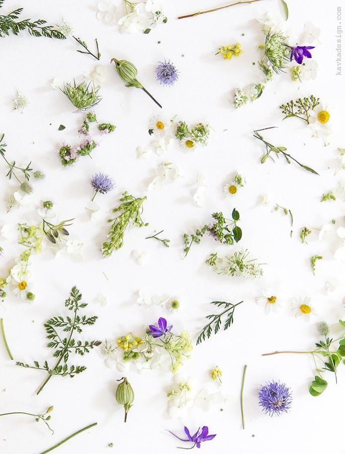 Floral Collage / Kav Ka Design #shoecarnival