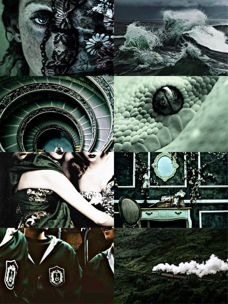 Harry Potter Wallpaper Slytherin