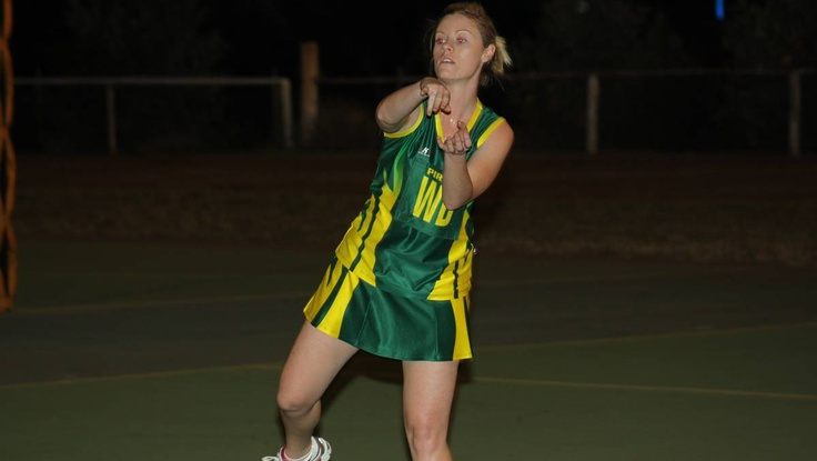 Subway player Melinda Duncan is the Mount Isa Netball Association's new president.