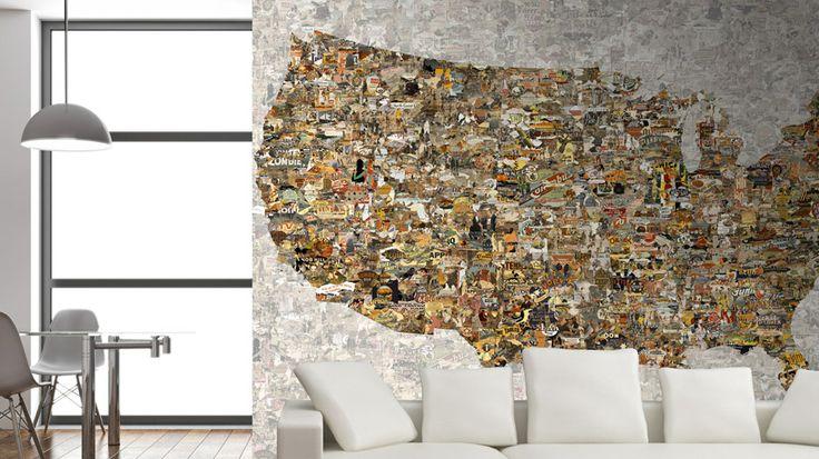 #Wallpaper #Duvarkagidi UNITED STATUS,GL5411