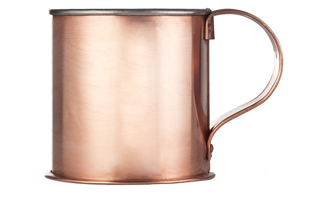 Handmade Copper Cup from Kaufman Mercantile (for your Moscow Mules)