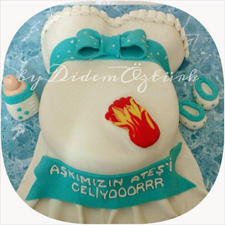 Butik Pasta,Butik Kurabiye,Pasta Tasarım,Doğum günü pastası,Kadıköy butik pasta ,çocuk pastaları: BABY SHOWER PASTA / HAMİLE PASTA (Kadıköy Butik Pa...