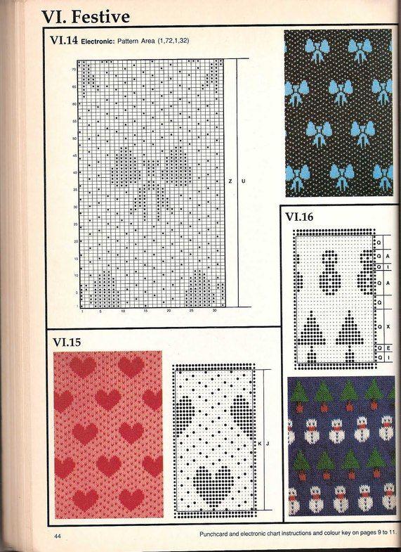 Машинное вязание - жаккард Машинное вязание - жаккард #43