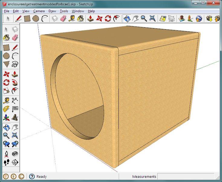 Speaker Enclosure Volume Calculator
