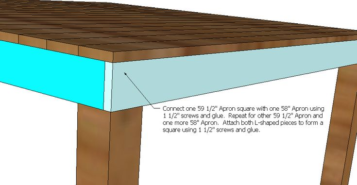 Bar Height Dining Table Plans Woodworking Projects Amp Plans