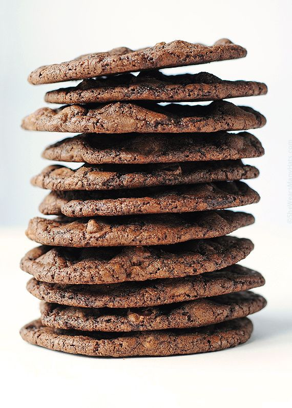 Double Dark Chocolate Cookies for the chocolate lover!