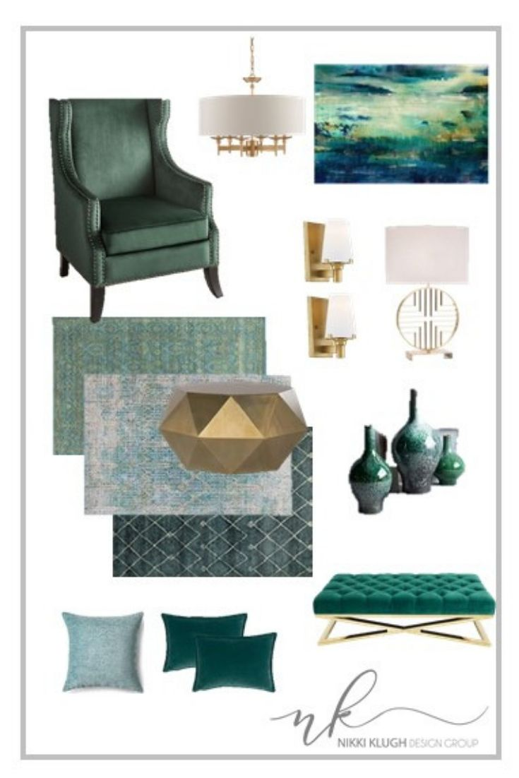 Green Livingroom Gold Coffee Table Gold Sconces And Emerald