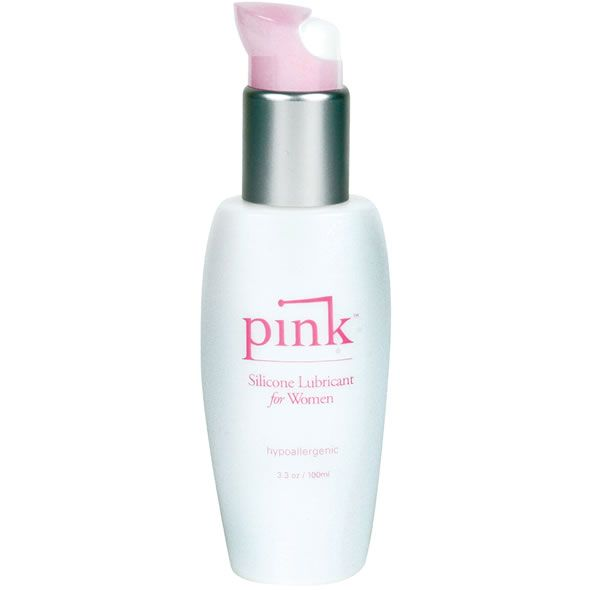 Pink, silikoni pohjainen liukuvoide. Sisältää E-vitamiinia ja Aloe Veraa. 100ml.Formulated with women in mind. Non-irritating and does not contribute to yeast infections. Pink is discreet enough to leave on your counter or nightstand. This lubricant is silicone-based and contains vitamin E and alo