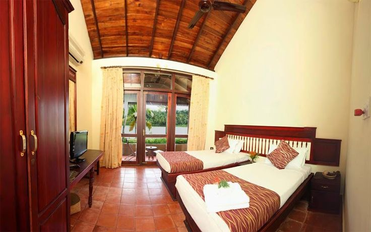 The #Lakeside #Room at #Fragrant #Nature #Resort - A #RareIndia #Retreat! Explore More: http://bit.ly/VOPNID