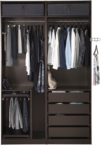 54 best Wardrobe images on Pinterest Bedroom ideas, Closet designs