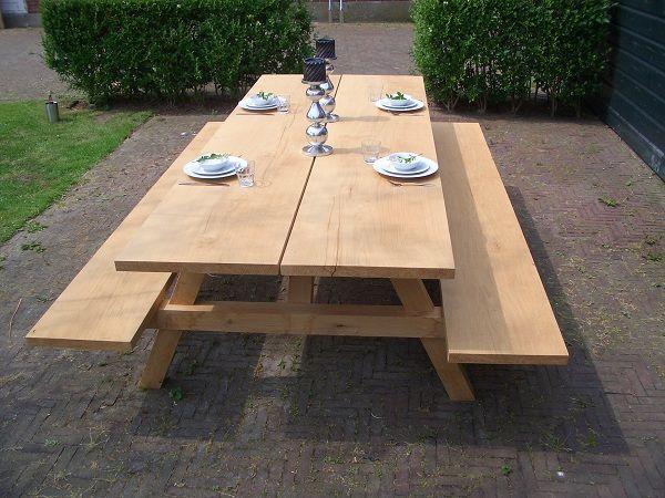 Grote picknicktafel | Timmerfabriek Grave