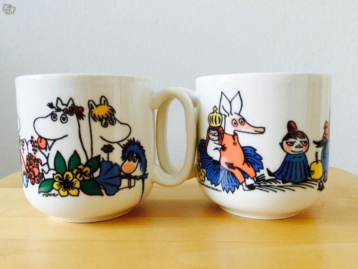 Vintage Muumi -mugs. Tori.fi 290e