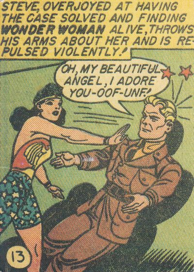Wonder Woman, Sensation Comics #13 (January 1943) Text: William Marston; Artist Harry G. Peter