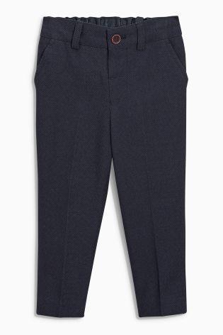 Купить Темно-синие брюки строгого стиля (3 мес.-6 лет) Купить онлайн прямо сейчас на Next: Украина