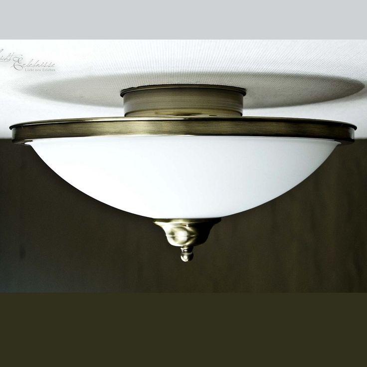 Great Edle Jugendstil Deckenleuchte Deckenlampe Messingoptik Lampe Gr nderzeit Leuchte