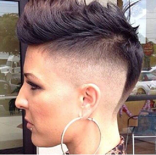 Shaved Undercut Faux Hawk