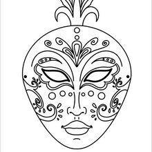 coloriages de masques colorier 9 coloriages en ligne gratuit pour les enfants