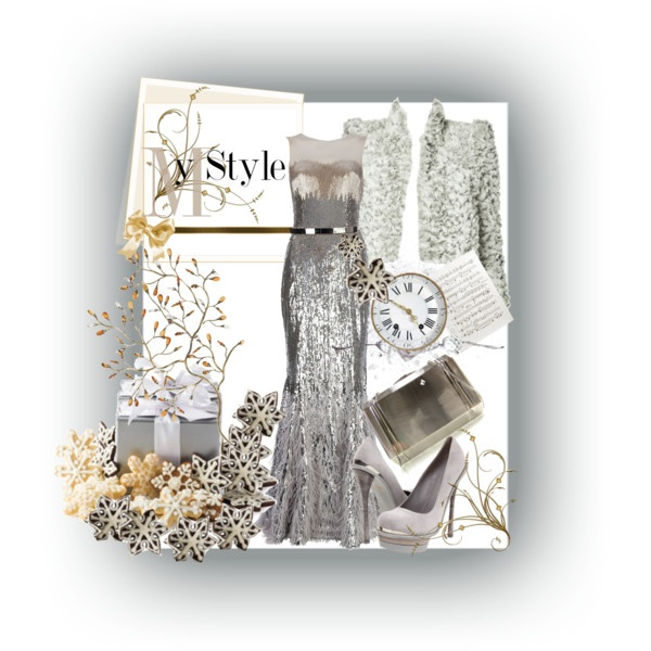 A fabulous New Year's outfit