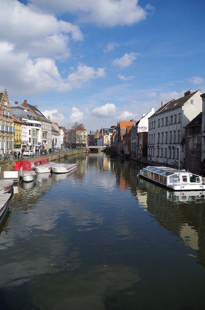 La magnifique ville de Gand en Belgique (Ghent)