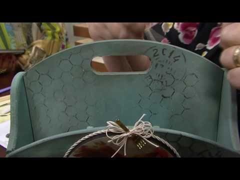 Mulher.com - 26/08/2016 - Porta talheres ou colher de pau - Rose Rodrigues P2 - YouTube