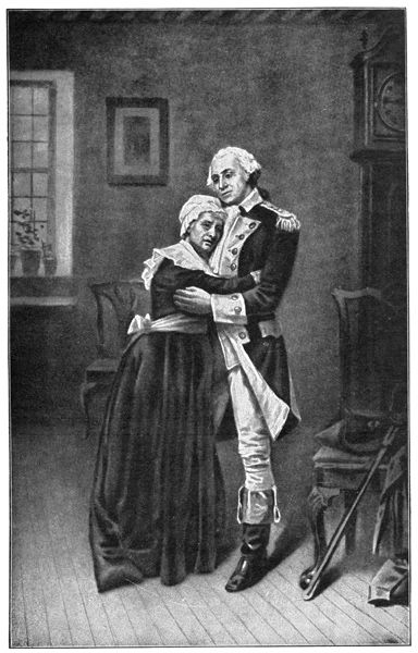george washington and his mother relationship