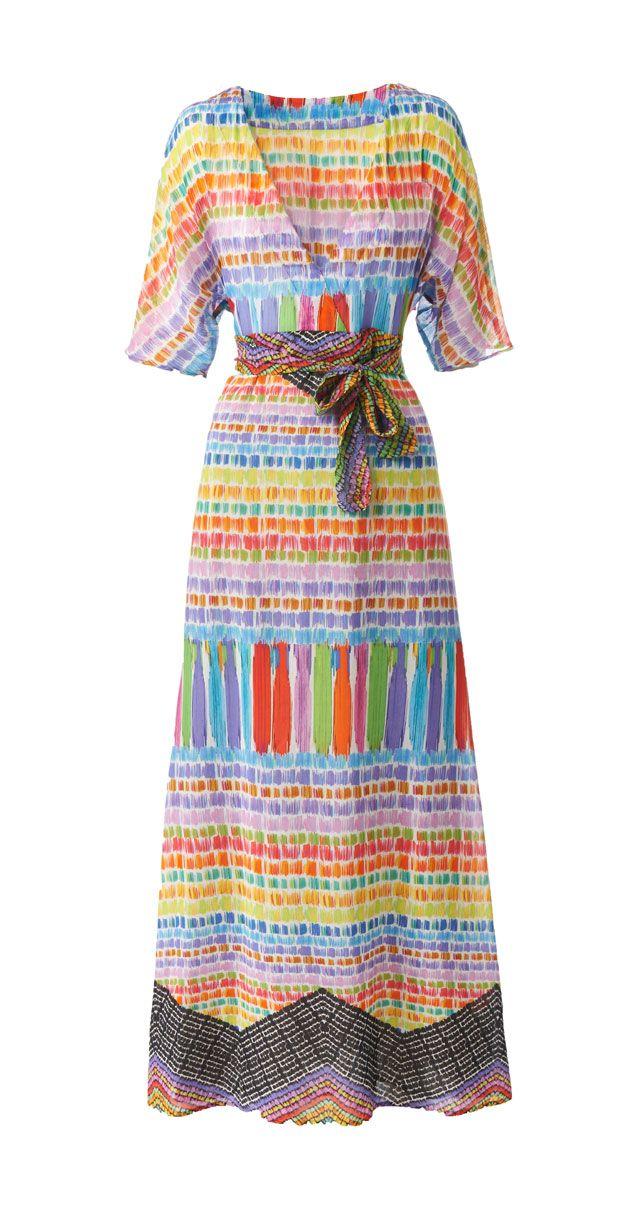 Schnittmuster: Hippie-Kleid nähen - eine Anleitung - BRIGITTE                                                                                                                                                     Mehr