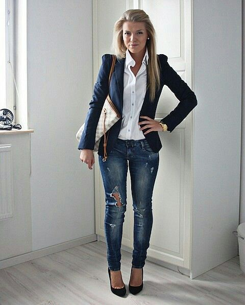 Minus the holes in the jeans...