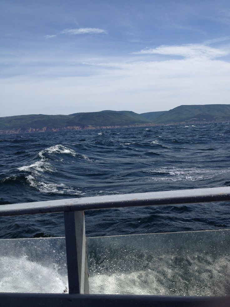 Didn't think it was possible, but #CapeBreton is even more beautiful from the ocean! #capebretonfavs #whalewatching http://ow.ly/B5s1e