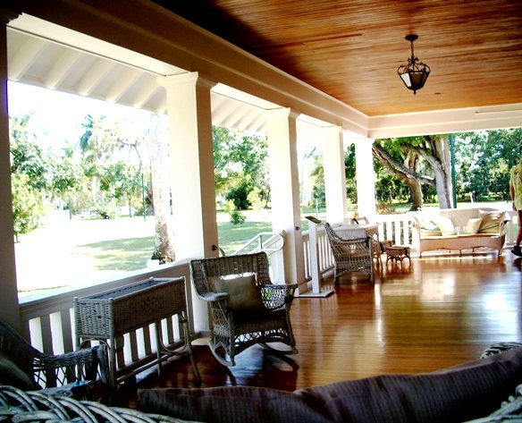 The porch of the Henry Ford Estate... sit back and enjoy the sounds of the south... (Photo by blogger Dayle Shockley): Islands Florida, Captiva Islands, Porches, Photo, Sanibel Island, Nice Porch
