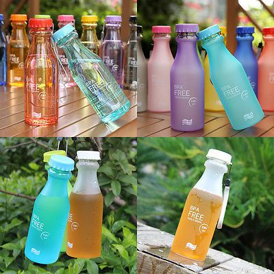 550ml-BPA-Free-Unbreakable-Plastic-Water-Bottle-Cycling-Bicycle-Camping-Sports