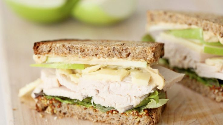 For a healthy go to after Thanksgiving try Shira's Eat Clean Turkey Sandwich. Whole grain bread with whole grain mustard elevates this sandwich to a nutritious and delicious level of healthy goodness.